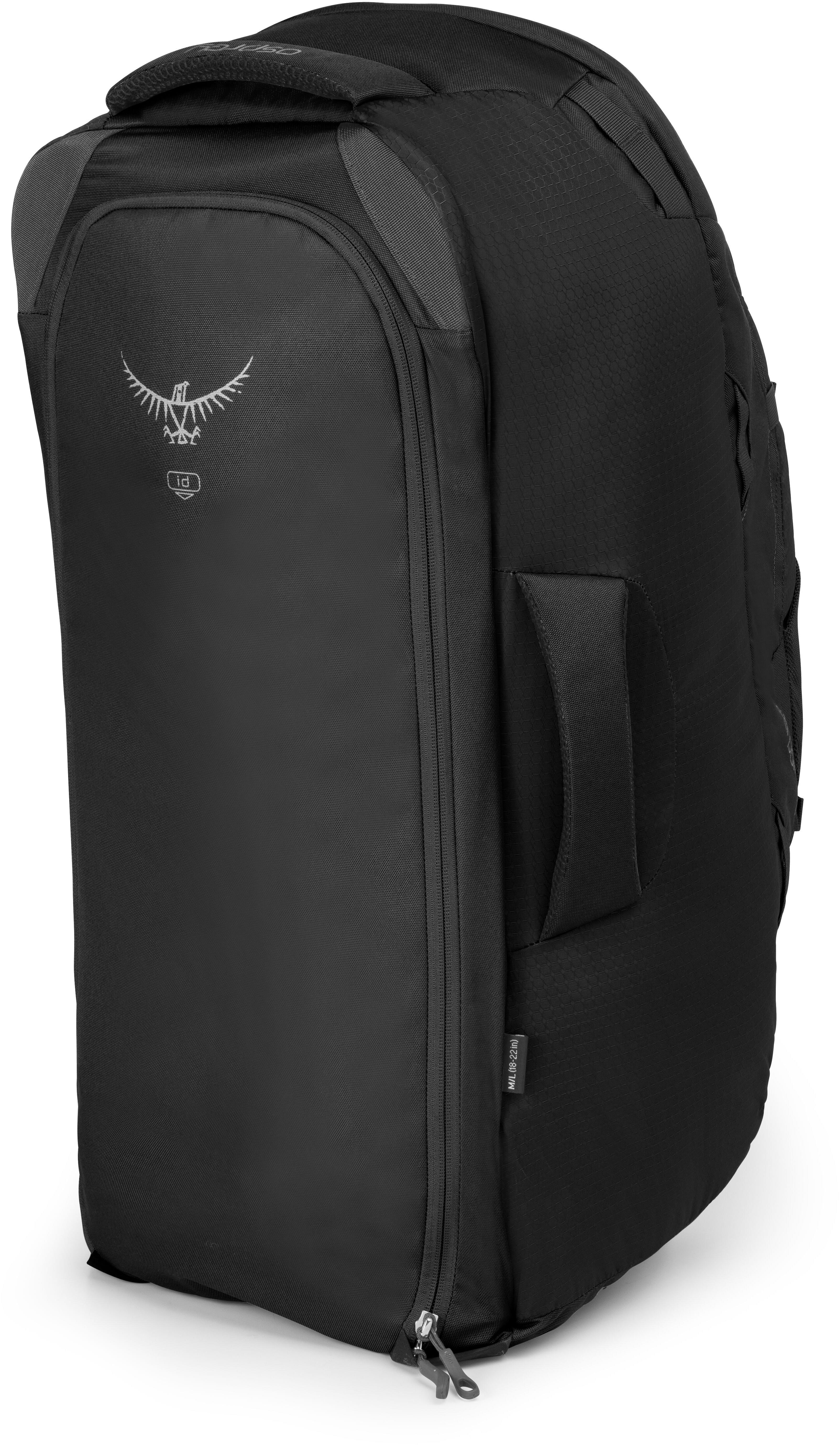 a1fad1ff9a Osprey Farpoint 70 - Sac de voyage - S/M noir sur CAMPZ !